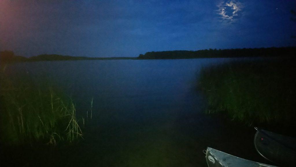 Sövdesjön by night